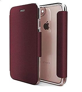 X- Doria Engage Folio Lux, Flip Cover Mobile Case, For Iphone 7/8, Red
