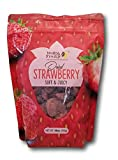 One -18 oz bag of Delicious Soft & Juicy Dried Strawberries, Natural, Healthy No Artificial Colors,Flavors, Gluten Free.