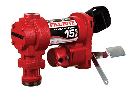 Fill-Rite FR1204H 12V 15 GPM Fuel Transfer Pump (Pump Only)