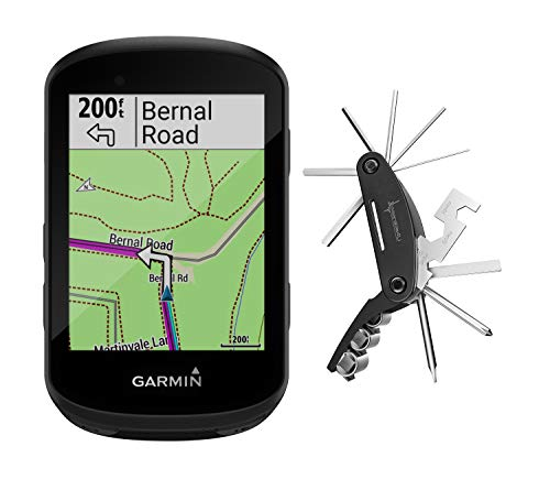 Fantastic Deal! Garmin Edge 530 GPS Cycling Computer with Included Wearable4U Cycling Multi Tool Bun...