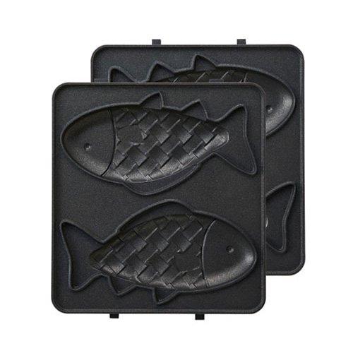 イデア ブルーノ ホットサンドメーカーシングル用おさかなプレート BOE043-FISH