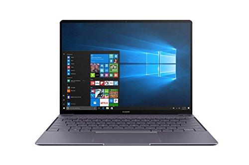 """Laptop Huawei Matebook X, pantalla de 13 """", procesador i5-7200U, gris"""