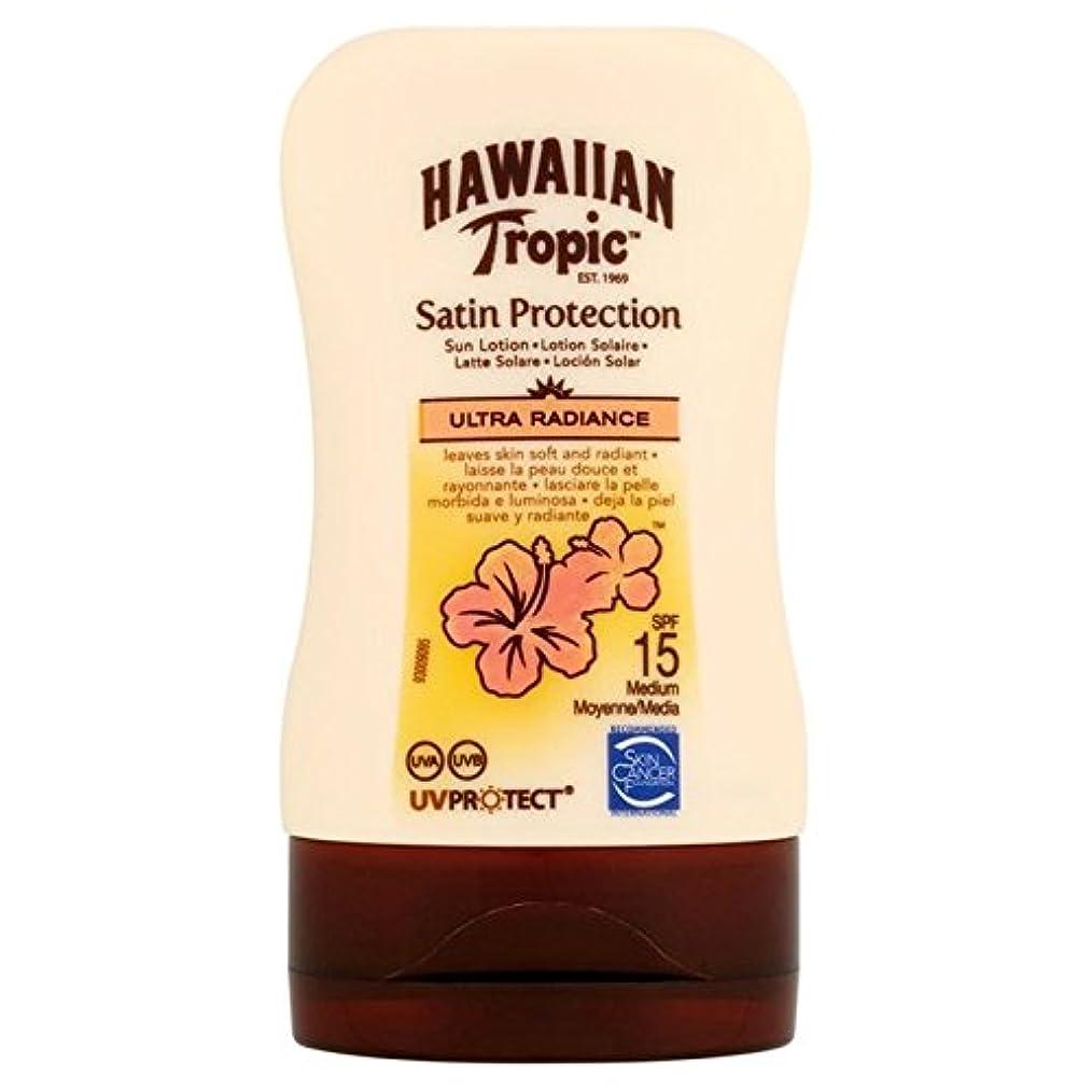 メロドラマ肉屋ラメHawaiian Tropic Protective Lotion SPF15 Ultra Radiance 100ml - 南国ハワイの保護ローション15超放射輝度100ミリリットル [並行輸入品]