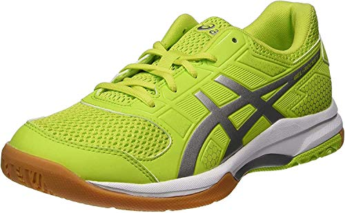 Asics Herren Gel-Rocket 8 Multisport Indoor Schuhe, Grün (Energy Green/silver/white 7793), 45 EU (10 UK)