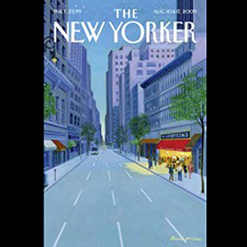 The New Yorker, August 10th & 17th, 2009: Part 2 (Ian Frazier, James Surowiecki, Zev Borow) audiobook cover art