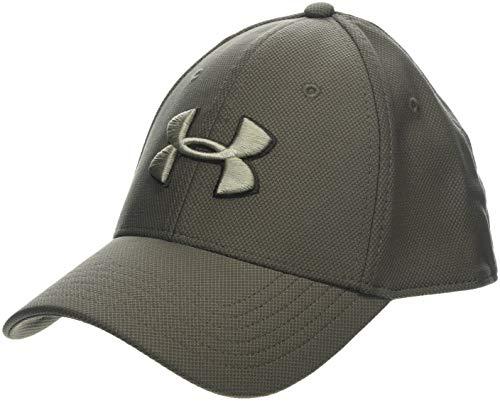 Under Armour Heren Blitzing 3.0 Cap Comfortabele Snapback voor Heren met ingebouwde Sweatband, Ademende Cap voor Heren