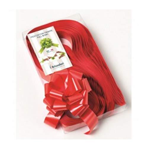 Pak 30 strikken Rapide, breedte 31 mm, rood, kerstdecoratie