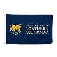 Desert Cactus University of Northern Colorado UNC Bears NCAA 100% Polyester Indoor Outdoor 3 feet x 5 feet Flag [並行輸入品]