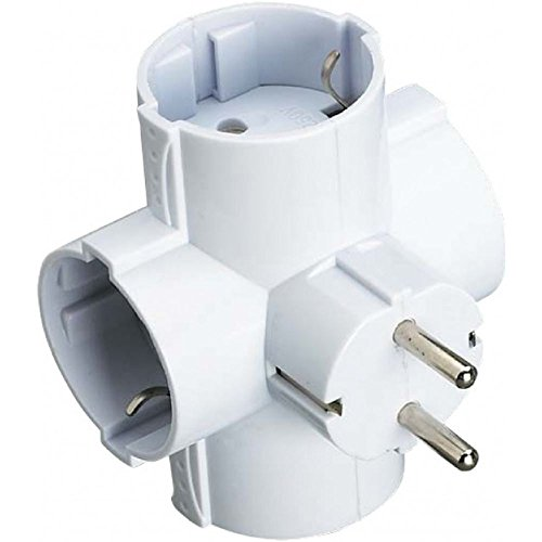 Merk jackstekker 4 stopcontacten TL 16 A 250 V (OLD-153) E40066