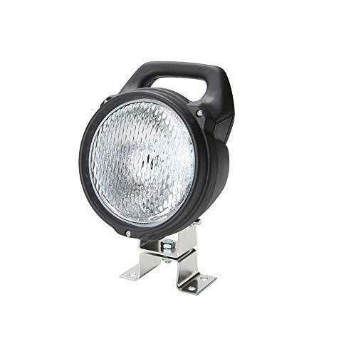 Hella 1G4 003 470-001 Arbeitsscheinwerfer - Matador - Halogen - H3 - 12V/24V - Anbau/Bügelbefestigung - stehend - Nahfeldausleuchtung
