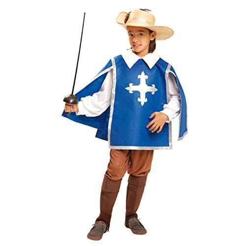 Desconocido My Other Me-201193 Disfraz de mosquetero para niño, 10-12 años (Viving Costumes 201193)