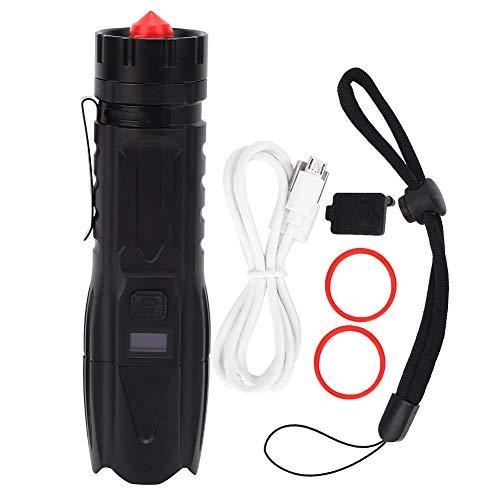 Cuerda de la tienda de campaña luces de advertencia LED para acampar de la cuerda colgante de la luz portátil de la lámpara de emergencia de camping linterna para senderismo, camping, emergencias