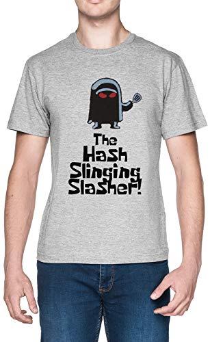 The Hash Slinging Slasher Grau Herren T-Shirt Größe XXL Grey Men's Tee Size XXL