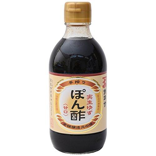 長友味噌醤油醸造元 カネナしょうゆ カネナ実生ゆずぽん酢  300ml