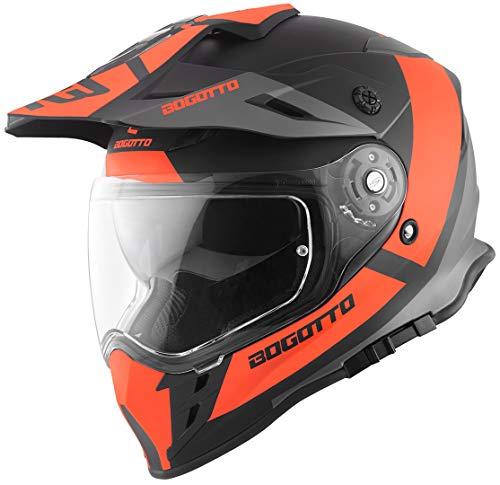 Bogotto V331 Pro Tour Endurohelm Orange S