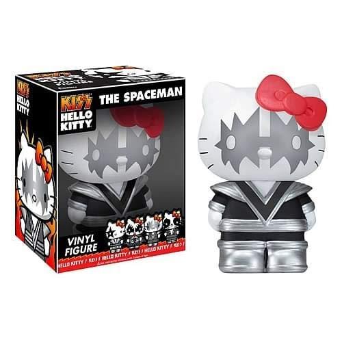 Hello Kitty Kiss The Spaceman - Figura de vinilo del personaje Hello Kitty