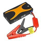 Arrancador de Batería de Coche 12V 22000mAh Batería De Emergencia Booster con DIRIGIÓ Martillo De Seguridad De Linterna Fácil de Almacenar (Color : Yellow, Size : 22000mAh)
