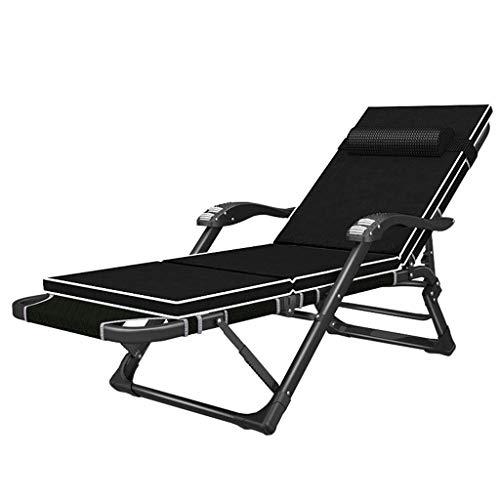 YVX Weightlessness Chair   Camping Folding Armchair   Recliner Deck Chairs for Garden Terrace   Deckchair Sun Loungers