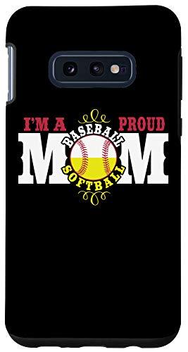 Galaxy S10e I'm a Proud Softball Baseball Mom - Combined Sports Case