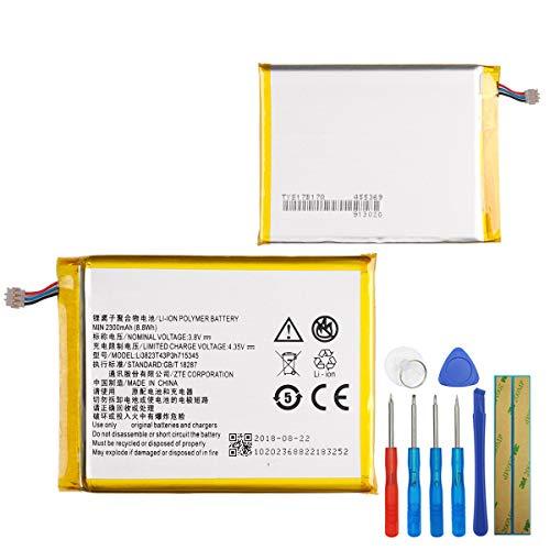 E-yiiviil Ersatzakku Li3823T43P3h715345 Kompatibel mit ZTE Grand S Flex 2300mah with Tools