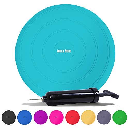 GORILLA SPORTS® Ballsitzkissen Farbe Blau