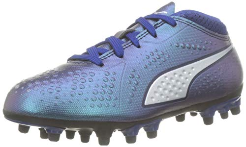 Puma One 4 Syn AG Jr, Zapatillas de Fútbol Unisex Niños, Azul (Sodalite Blue Silver-Peacoat 03), 36 EU