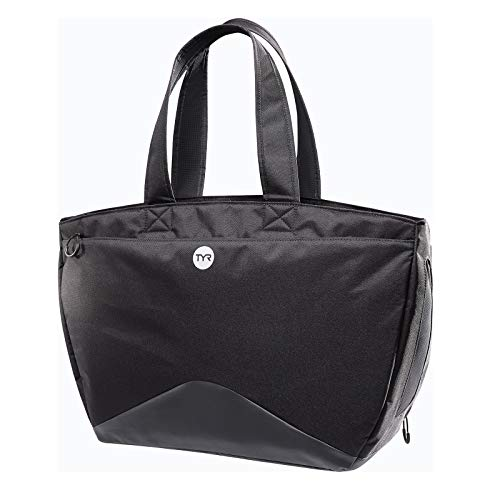 TYR Alliance Tote Bag Black Swim Bag Swim Gear Bag
