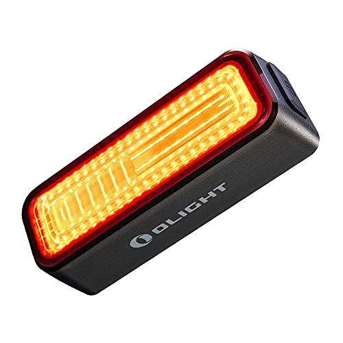 Olight RN 180 TL Lampda Posteriore per Bici 180 Lumen, Lampada Ricaricabile con Cavo USB, Impermeabile IPX6, 8 modalità di Illuminazione Ideale per Spostamenti Urbani, Ciclismo su Strada e Ciclismo