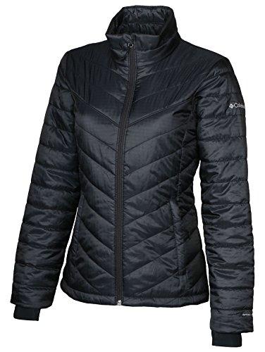 Columbia Womens Morning Light II Insulated Omni-Heat Jacket, BLACK (MEDIUM)