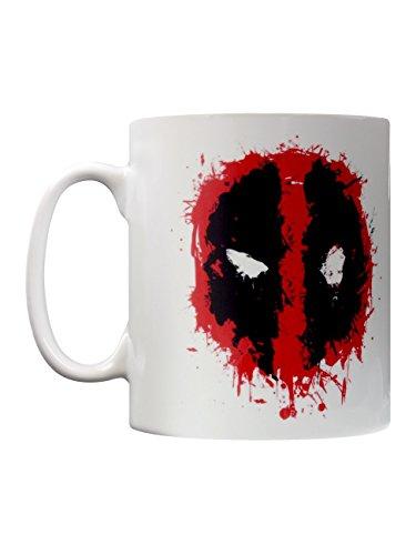 Deadpool - Splat, Multicolore, 11 oz/315 ml Mug