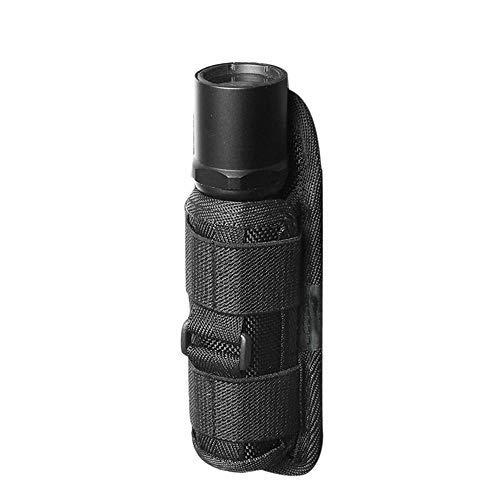 AILOVA Taktische Taschenlampe Beutel, 360 Grad Drehbare Molle LED Taschenlampe Nylon