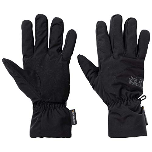 Jack Wolfskin Erwachsene Stormlock Highloft Handschuhe Unisex, Black, L