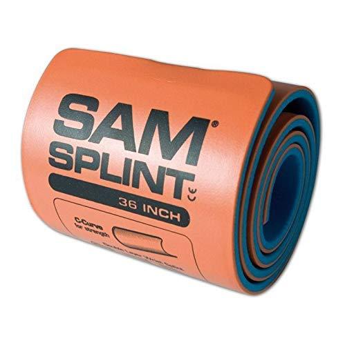 SAM Splint 36' Roll, Orange/Blue