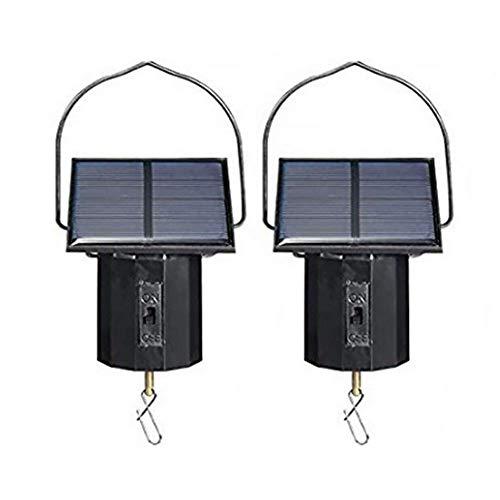 Acreny Wind Spinner, op zonne-energie aangedreven motor, flexibel groot elektrisch gereedschap, ophangen