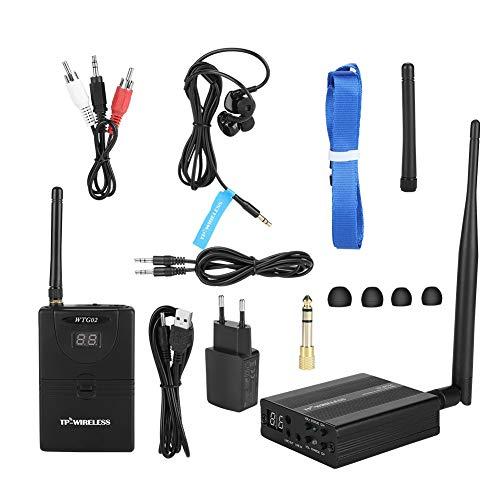 Receptor De Sistema De Monitor Interno Inalámbrico, Receptor De Sistema De Audio De Escenario De 2.4ghz para Escenario,...