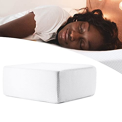 Pillow Cube, Pillow Square for Side Sleepers,the Cube Pillow Ergonomic Memory, Cube Bed for Head, Cervical Pillow for Neck Pain (15x12x4inch)
