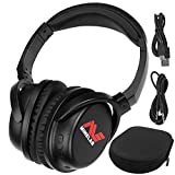 Minelab ML 80 Bluetooth Wireless Low Latency Headphones with Case and 1/8' Plug for Equinox Series