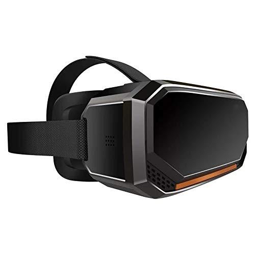 YANJINGYJ 3D VR Brille Virtuelle Realität Kopf montiert Alles in einem Maschine,2560 * 1440 2K HD Bildschirm,zum 2D 3D VR Video und Spiel,Schwarz