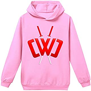Chad Wild Clay Hoodies Casual Pullover Sweatershirts sweater for KIDS children boys (E,150cm)