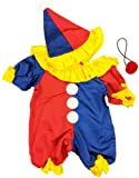 """Party Clown Outfit Teddy Bear Clothes Outfit Fits Most 14"""" - 18"""" Build-a-bear and Make Your Own Stuffed Animals"""