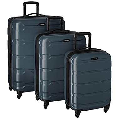 Samsonite 68311-2824 Omni PC Hardside Spinner  20 24 28,  Teal,  3 Piece Set