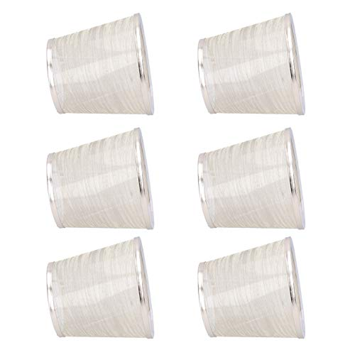 Pantalla para el hogar Forro de tela transparente Clip Cubierta de luz Moderno Tela simple Luz de pared Cubierta de pantalla Araña Lámpara de pared Pantalla de lámpara de lectura de albaricoque Pantal