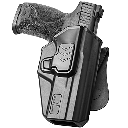 M&P 9MM Holster, OWB Paddle Holster Fit Smith & Wesson M&P...