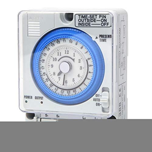 Interruptores de tiempo digitales programables interruptor temporizador, hogar TB-388 para luces