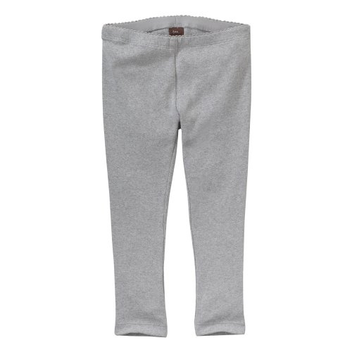 Tea Collection Baby Organic Purity Legging, Heather Grey, 18 24 Months