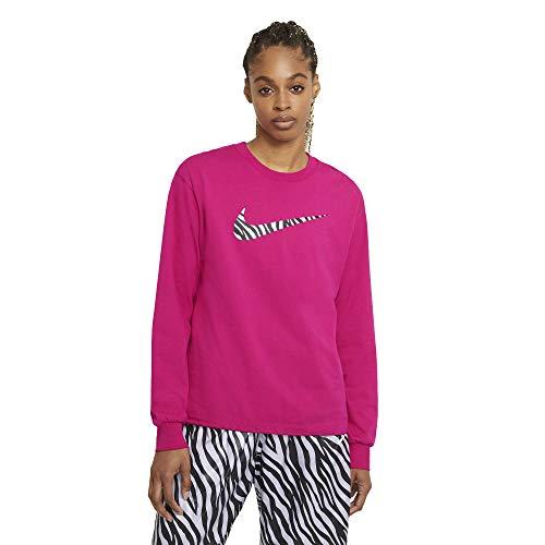 Nike Sportswear Icon Clash – DC6937-615 – Camiseta de mujer fucsia 2X