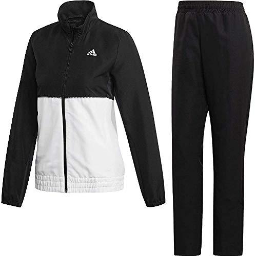 adidas W Club TS Chándal de Tenis, Mujer, Negro/Blanco, XS