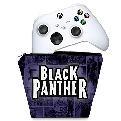 Capa Xbox Series S X Controle Case - Pantera Negra Comics