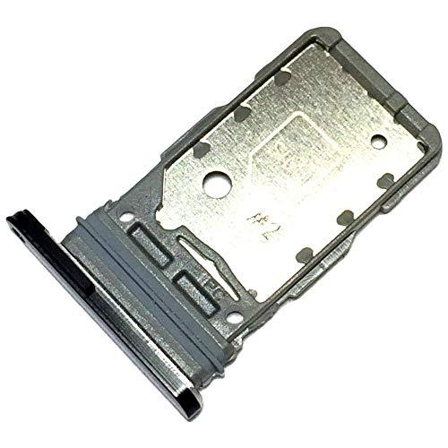 Bandeja Tarjeta Dual SIM para Samsung Galaxy S21 Ultra 5G (SM-G998B, SM-G998B/DS), Repuesto Original, Negro