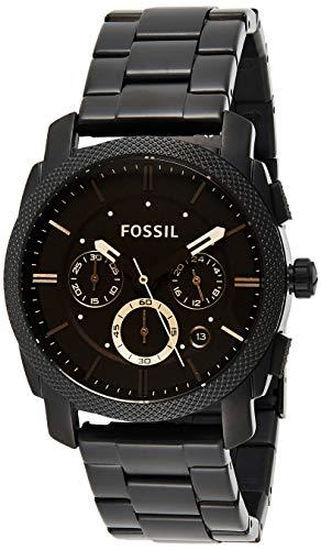 Fossil Orologio Cronografo Automatico Uomo con Cinturino in Acciaio Inossidabile FS4682IE